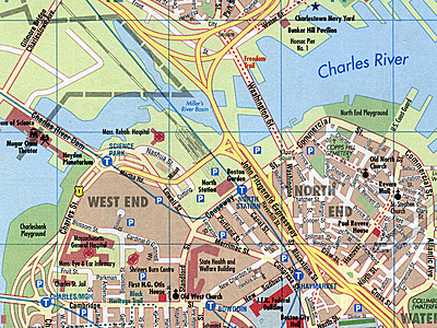 Image Major highways and city maps
