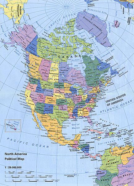 Universal Map 15035 North America Large Print Road Atlas | Walmart ...