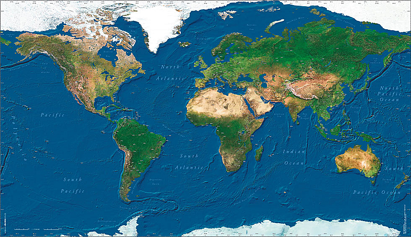Wall map image pilots atlas satelite wall map high resolution gumiabroncs Images